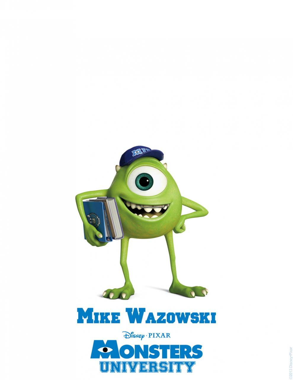 "Chris' Movie Corner: ""Monster University"" characters ..."