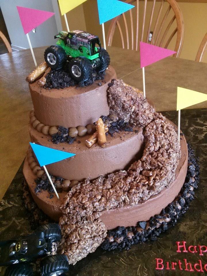 Simply Sweet Monster Truck Cake