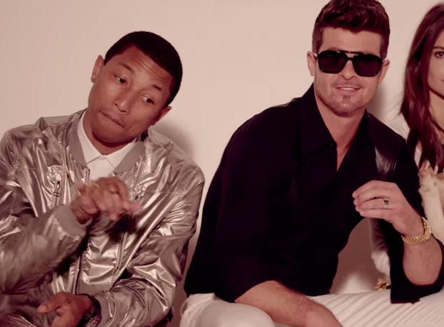 "Robin Thicke and Pharrell Williams Guilty and Ordered To Pay Marvin Gaye's Family 7 Million For The Song ""Blurred Lines"" - Watch Videos"