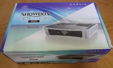 ATUALIZAÇÃO SHOWBOX SAT HD PLUS - V0.00.16.21 - 21/10/2104