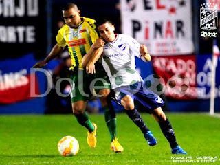 Oriente Petrolero - Thiago dos Santos - Nacional vs Oriente Petrolero - Copa Sudamericana - DaleOoo.com web del Club Oriente Petrolero