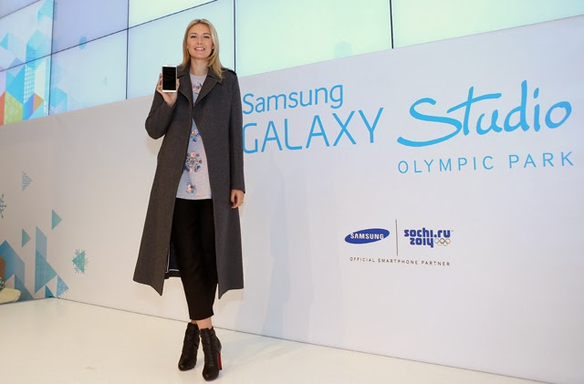 Flagship Galaxy Studio for the Sochi 2014 Olympic Winter Games and Maria Sharapova