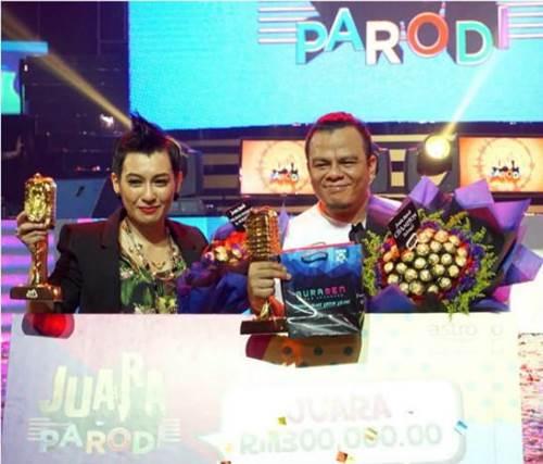 Pemenang Juara Parodi 2015, Gelanggang Akhir Juara Parodi 2015, lagu peserta Juara Parodi 2015 minggu akhir, senarai pemenang Juara Parodi 2015, keputusan penuh, keputusan rasmi Juara Parodi 2015 final