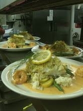 cod with nantua