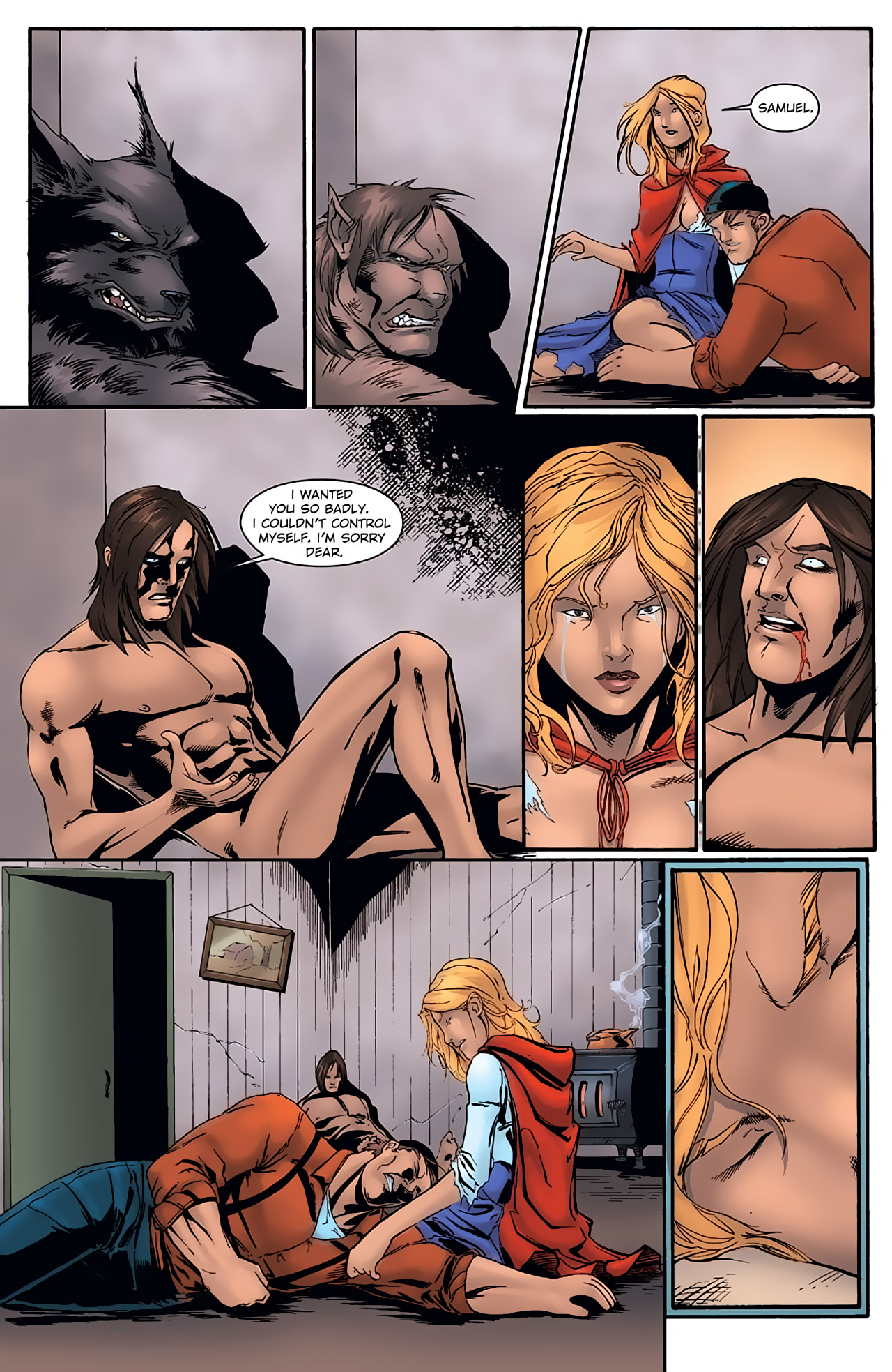 Grimm Fairy Tales (2005) Issue #1 #4 - English 21