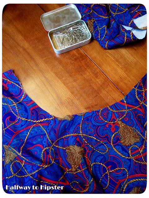 Tassel Dress Refashion