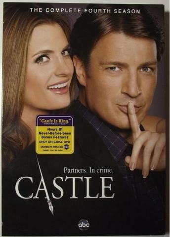 Castle e Beckett Brasil: DVD - 4ª Temporada