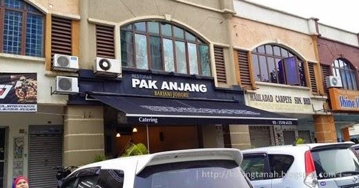 Jom Jalan... Jom Makan...: Restoran Pak Anjang Bariani ...