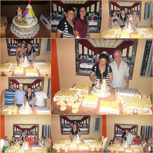 José da Penha RN Maria Hilda comora festa de aniversário surpresa