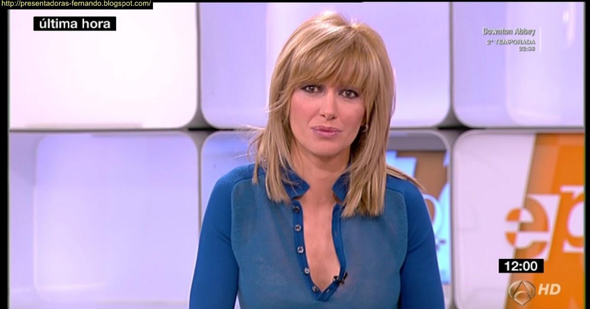 Presentadoras fernando susana griso marcando generoso escote en espejo publico 13 12 2011 - Espejo publico hoy ...