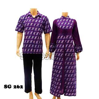 Baju Batik Sarimbit Kerah Sanghai
