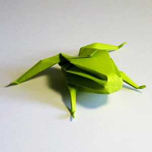 Action Origami That Not Only Covers Still Life But Also Moving Objects Which Include Flies
