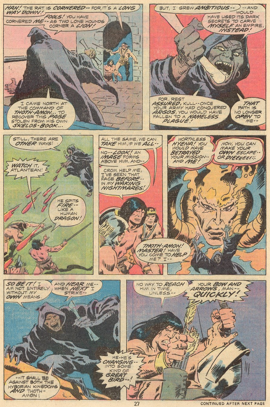 Conan the Barbarian (1970) Issue #68 #80 - English 18
