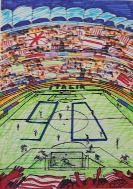 Partido de futbol 23-6-90