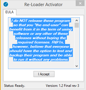 Re-Loader Activator 1.2 Final Rev 3 Multilanguage