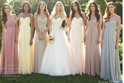 Bridesmaid Dresses - Bridal Celebration Requirements