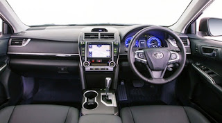2015 Toyota Camry Atara SL Review Interior