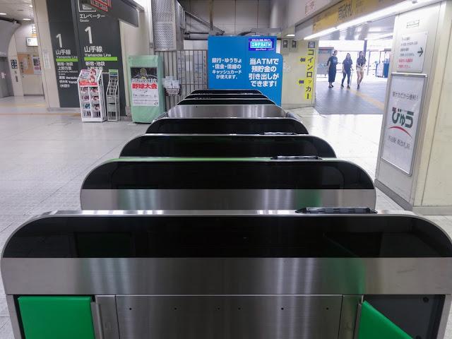 JR渋谷駅改札〈著作権フリー無料画像〉Free Stock Photos