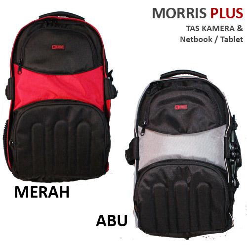 Tas Ransel Kamera + Laptop Murah dan Bagus Zano Morris Plus