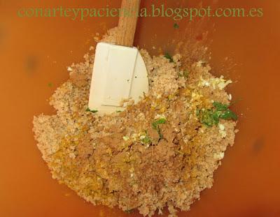 Albóndigas con curry y leche de coco (vegetarianas)