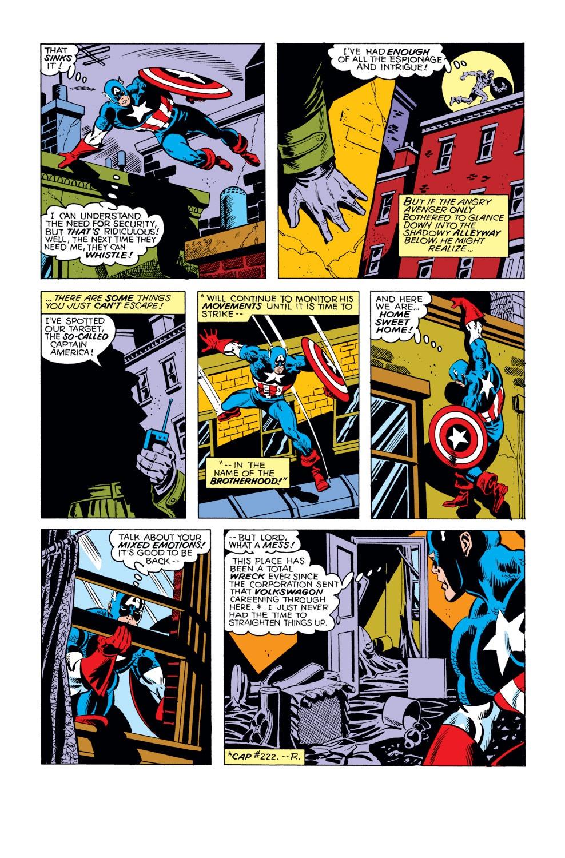 Captain America (1968) Issue #231 #146 - English 11
