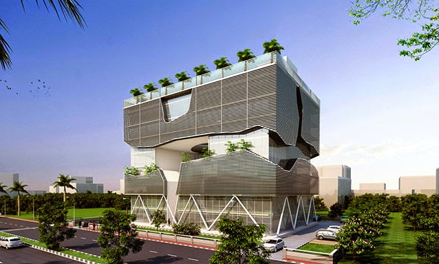 Modern architecture buildings wallpaper for Architecture design for home in lucknow