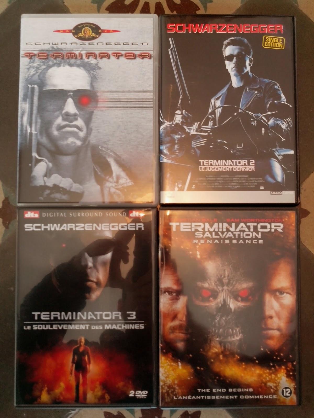 Divers DVD a vendre Terminator