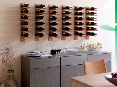Arte y arquitectura botelleros originales - Botelleros de diseno ...