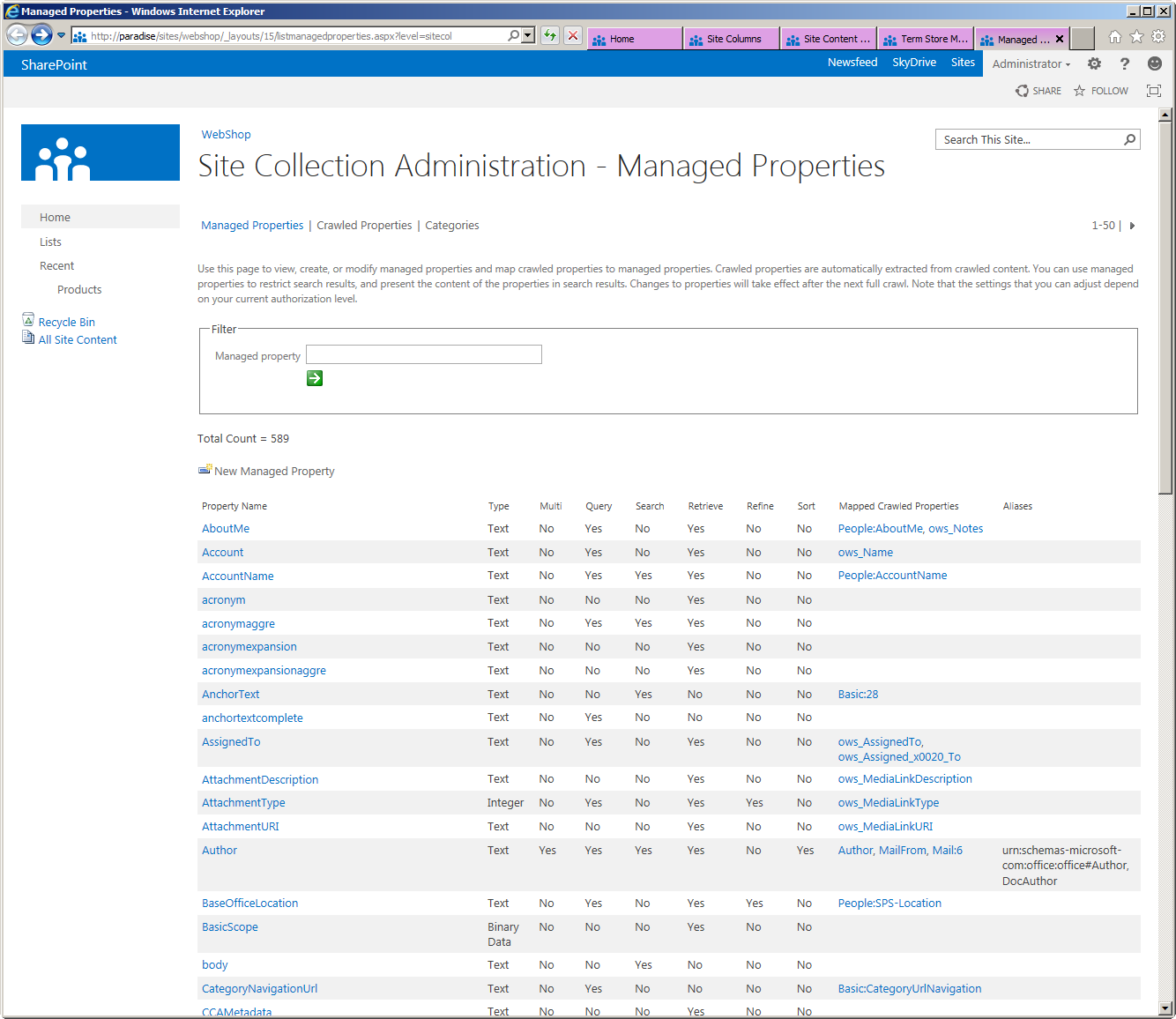 sharepoint list template - Gidiye.redformapolitica.co
