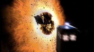 Cena final do episódio The Satan Pit, de Doctor Who