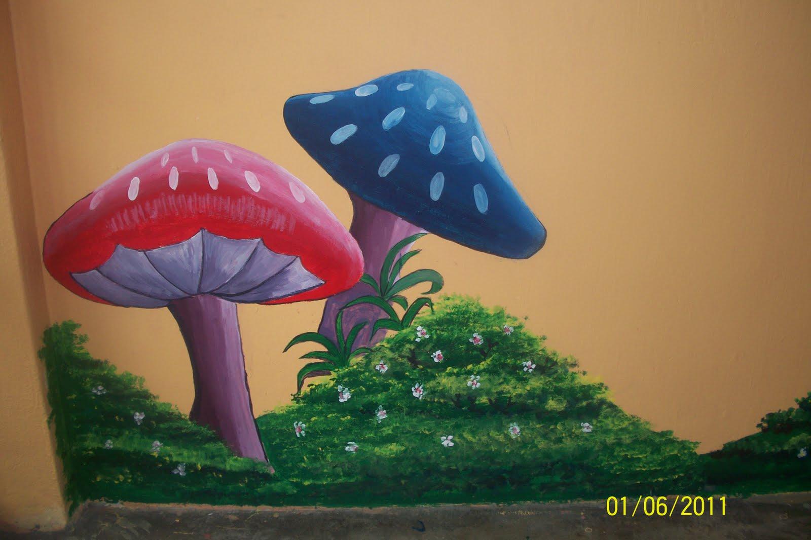 Mural contoh lukisan dinding mural mural contoh lukisan for Contoh lukisan mural tadika