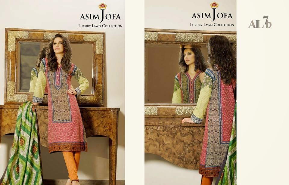 Asim Jofa new summer collection 2015