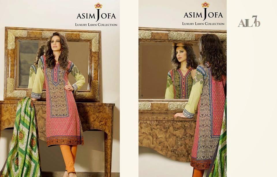 Asim Jofa new summer collection 2015