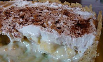 Torta Suspiro de Banana