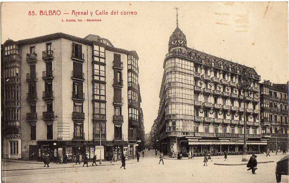 Yo trabaje en banesto oficinas banesto v bilbao - Bilbao fotos antiguas ...