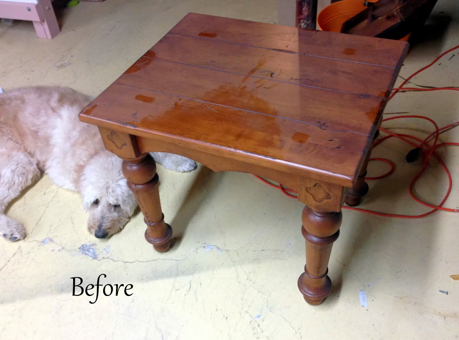 Side Table- Before