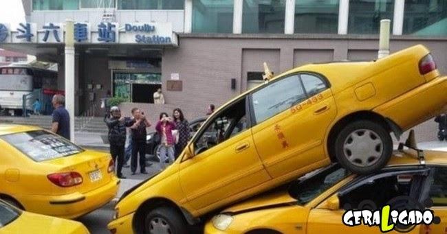 Barbeiragem total! Veja os mais bizarros acidentes de carro