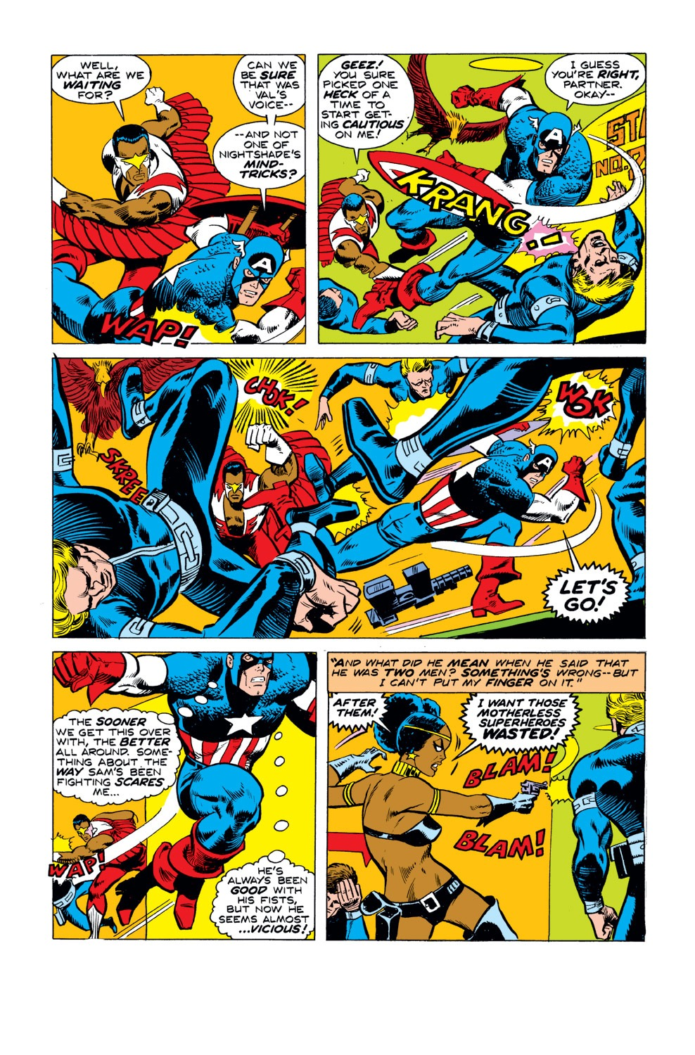 Captain America (1968) Issue #190 #104 - English 17
