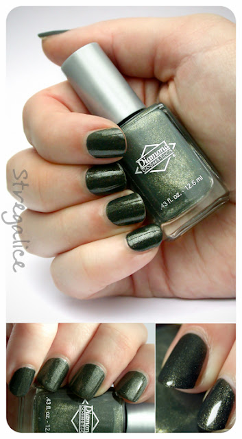 Diamond Cosmetics Never So Ever-green - swatch