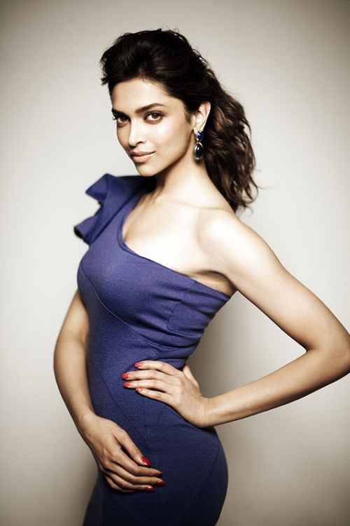 Deepika hot Blue dress