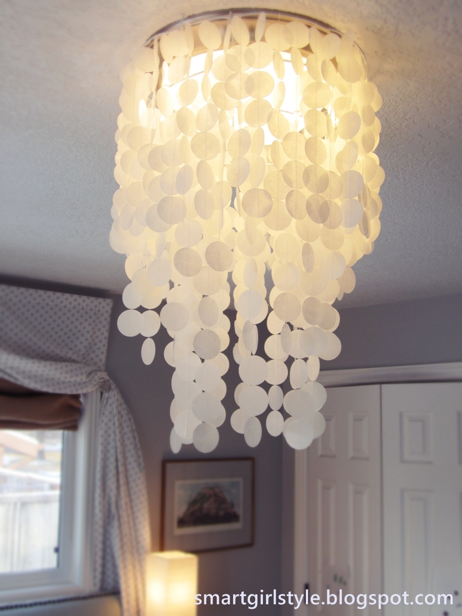 capiz shell lighting fixtures. Master Bedroom Makeover: Lighting Capiz Shell Fixtures