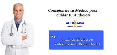 Audiomax visita tu médico