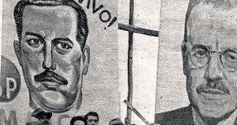Resultado de imagen para chile Domiciano Soto y el dirigente bancario socialista popular Edgardo Maass