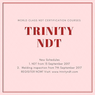 NDT Level II Certification Courses - Sept 2017