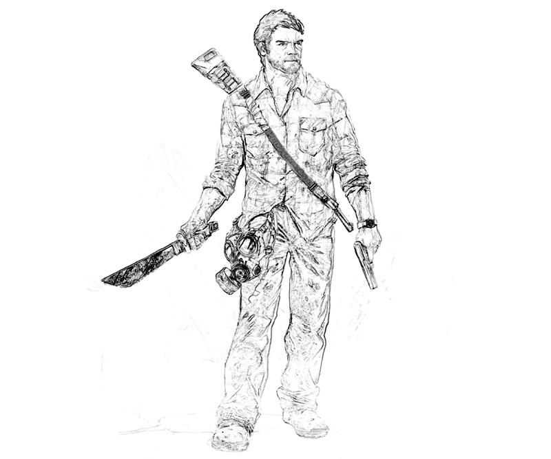 printable-last-of-us-joel-weapon-coloring-pages