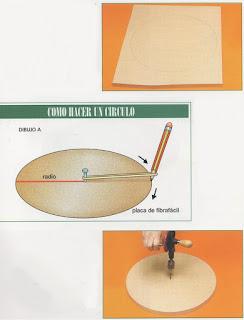 Como hacer una bandeja giratoria para el centro de la mesa.