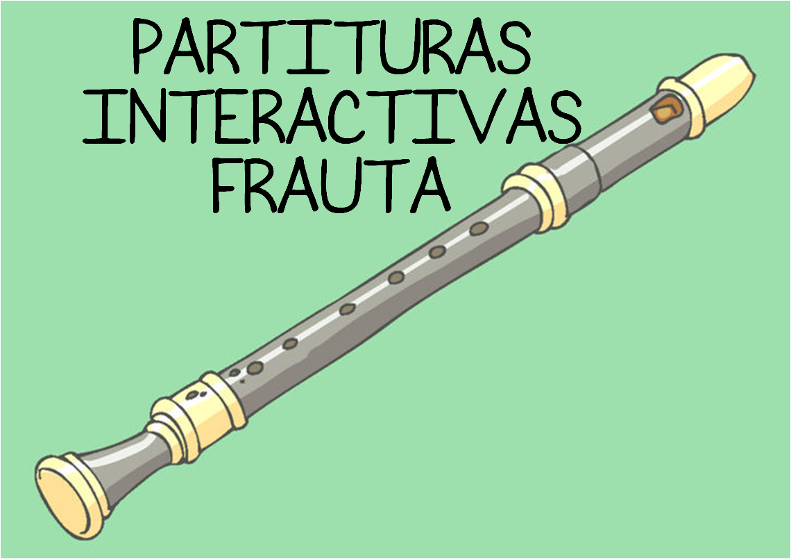 PARTITURAS INTERACTIVAS FRAUTA