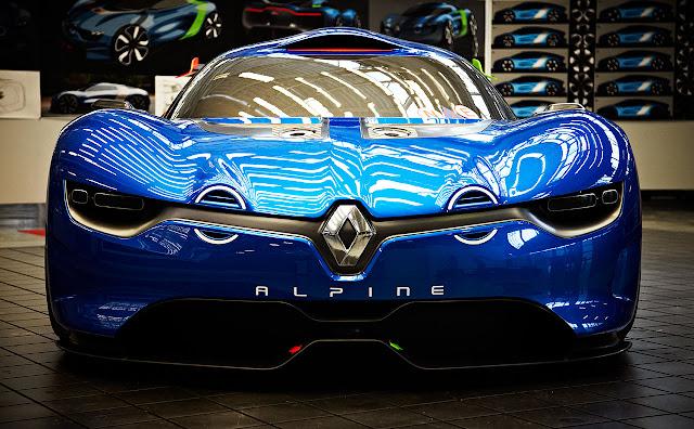 Renault Apline A110 front