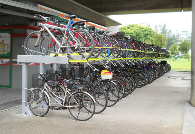 If Only Singaporeans Stopped To Think More Bicycle Racks