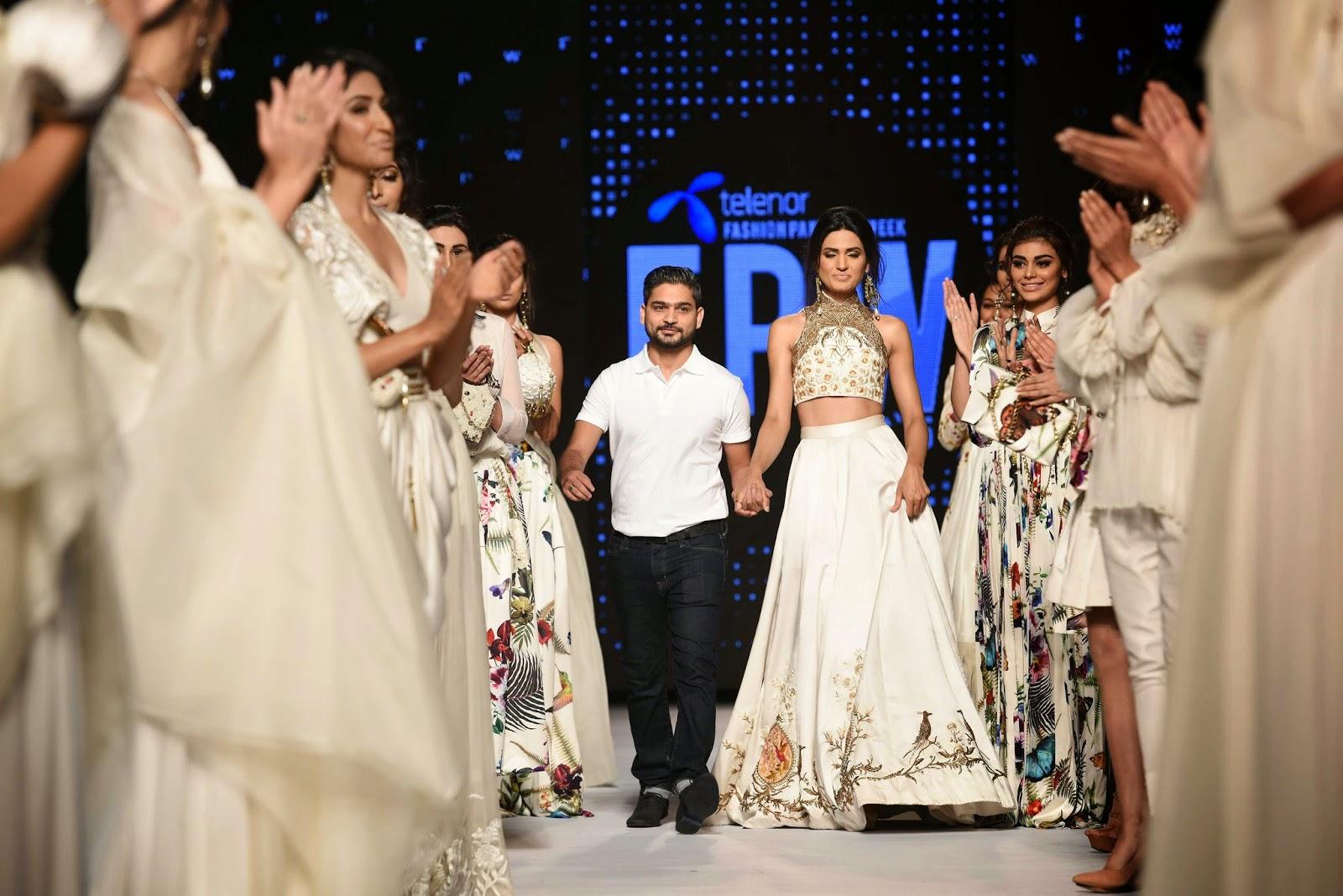 Zaheer Abbas Telenor Fashion Pakistan Week 2015 Day 2